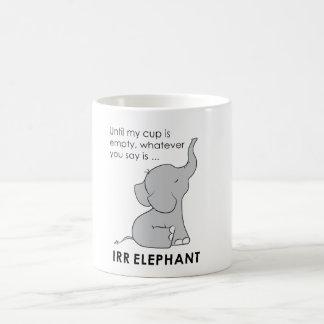 Lo que usted dice es taza del elefante de