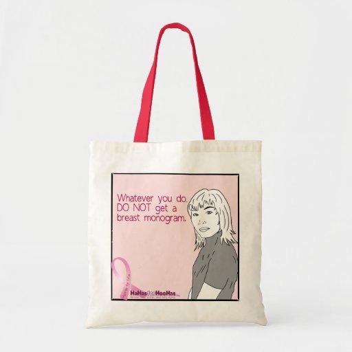 Lo que usted lo hace, no consiga un monograma del  bolsas