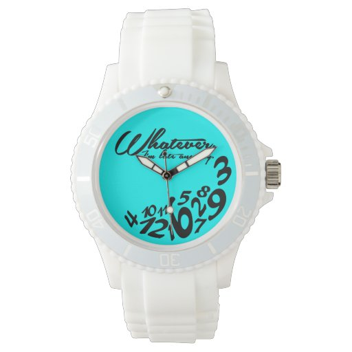 lo que, yo son atrasados de todos modos - verde relojes de pulsera