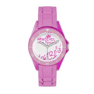 lo que yo son princesa relojes