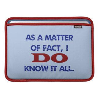 Lo sé todo funda  MacBook