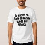 lo siento no todo el mundo puede ser GITANO! Camisas