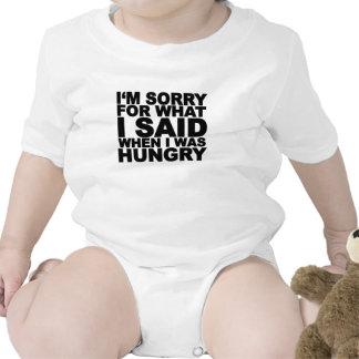 Lo siento para lo que dije cuándo era… png hambrie traje de bebé