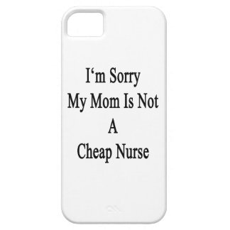 Lo siento que mi mamá no es enfermera barata iPhone 5 Case-Mate protector