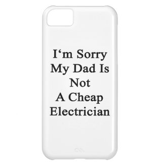 Lo siento que mi papá no es electricista barato