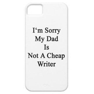 Lo siento que mi papá no es escritor barato iPhone 5 protectores