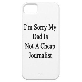 Lo siento que mi papá no es periodista barato iPhone 5 protector