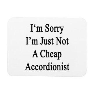 Lo siento que no soy apenas acordeonista barato imanes