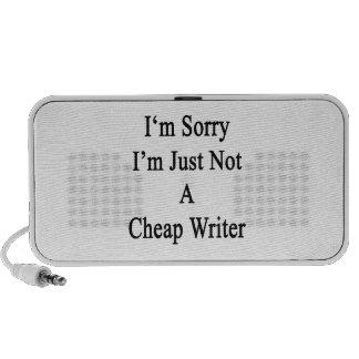 Lo siento que no soy apenas escritor barato iPhone altavoz