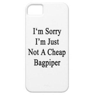 Lo siento que no soy apenas gaitero barato iPhone 5 protectores