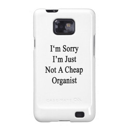 Lo siento que no soy apenas organista barato galaxy SII carcasas