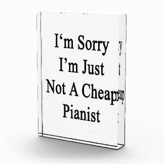 Lo siento que no soy apenas pianista barato