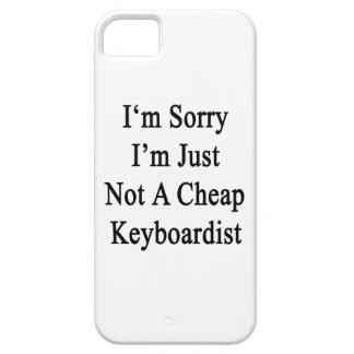 Lo siento que no soy apenas teclista barato iPhone 5 Case-Mate carcasa