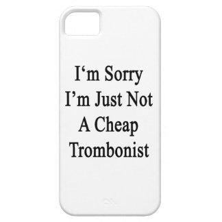 Lo siento que no soy apenas trombón barato iPhone 5 cobertura