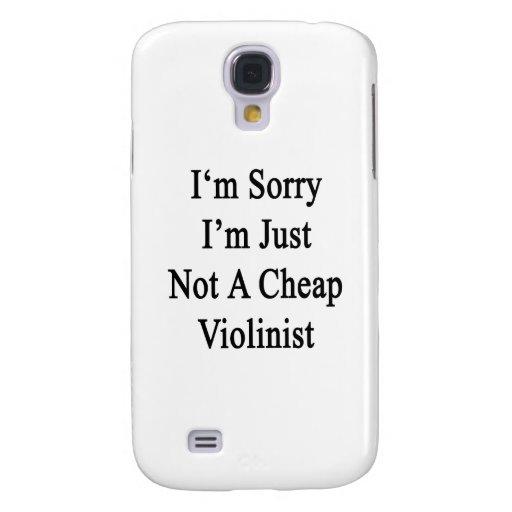Lo siento que no soy apenas violinista barato