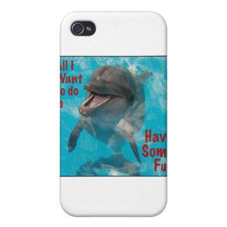 Lo único que quiero hacer es divertirse cierto iPhone 4 cárcasa
