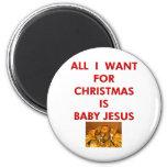 Lo único que quiero para el navidad es bebé Jesús Iman De Nevera