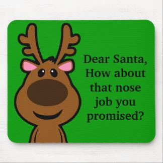 Lo único que quiero para el navidad es cirugía plá alfombrilla de ratón