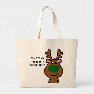 Lo único que quiero para el navidad es cirugía plá bolsa tela grande