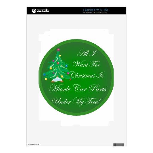 Lo único que quiero para el navidad es piezas del  iPad 2 skins