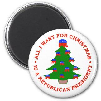 Lo único que quiero para el navidad es presidente  imán de frigorífico