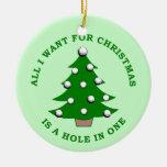 Lo único que quiero para el navidad es un agujero  ornamente de reyes