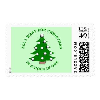Lo único que quiero para el navidad es un agujero sello