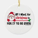 ¡Lo único que quiero para el navidad está para que Ornato