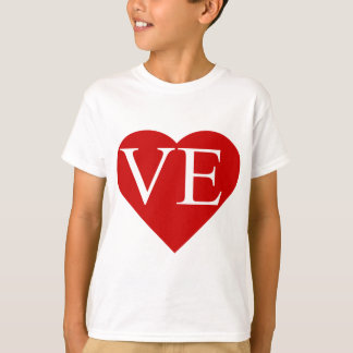 LO - VE Matching Heart Shirts (2 of 2)
