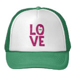LO VE You Text Design - customizable hat