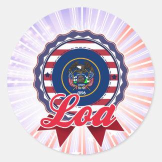 Loa UT Round Stickers
