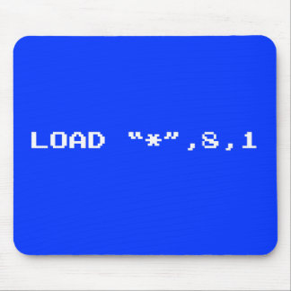 "Load ""*"", 8, 1 mouse pad"