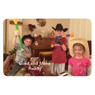 Load and Make Ready - Future Gunslingers Magnet