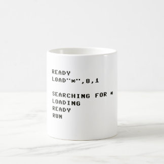 LOAD C64 COFFEE MUG