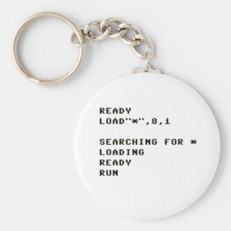 LOAD C64 KEYCHAIN