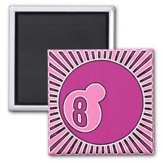 LOAD GIRL STANDING 2 INCH SQUARE MAGNET