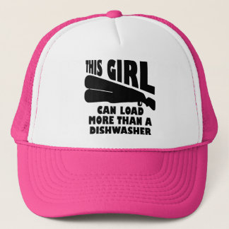 Load More Than A Dishwasher Funny Ball Cap Hat