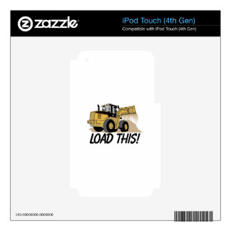 Load This iPod Touch 4G Decal