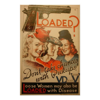 Loaded? Don't take chances with pickups! Poster