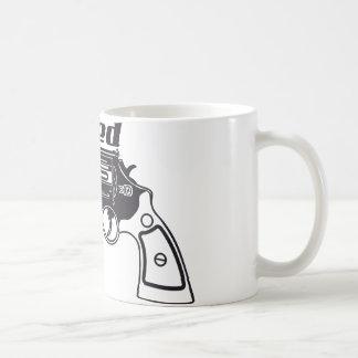 Loaded Hand Gun by U.S. Custom Ink Coffee Mug
