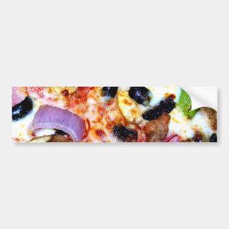 Loaded Pizza Bumper Sticker
