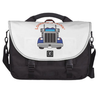 LOADED UP AND TRUCKIN LAPTOP COMMUTER BAG