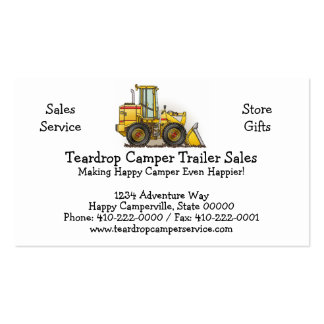 Loader Business Card Template
