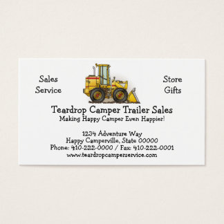 Loader Business Card