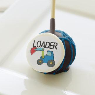 Loader Construction Vehicle Cake Pops Cake Pops