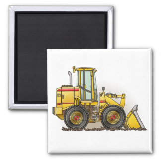 Loader Square Magnet