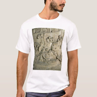 Loading a ship, detail from cast of Trajan's T-Shirt