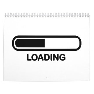 Loading bar calendar