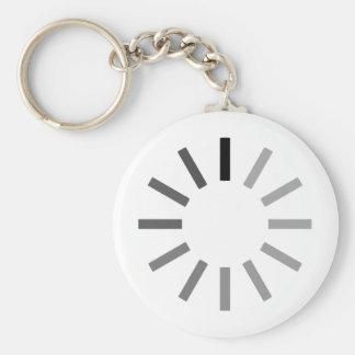 Loading... Basic Round Button Keychain