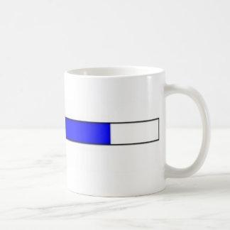 """LOADING"" COMPUTER BAR CLASSIC WHITE COFFEE MUG"